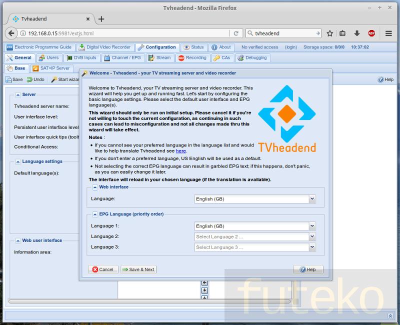 Install TVheadend DVB/PVR on LibreELEC MeCool KI PRO